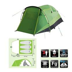 Палатка двухслойная купольная NORFIN Bream 3 (арт. NF-10107)