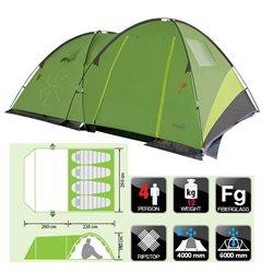 Палатка кемпинговая NORFIN Pollan 4 (арт. NF-10203)