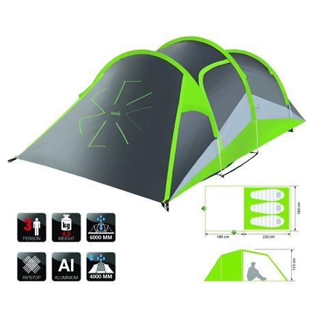 Палатка NORFIN SALMO 3 ALU (арт. NF-10303)