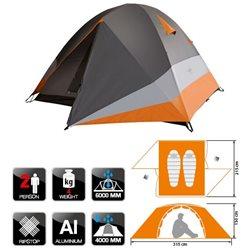 Палатка треккинговая NORFIN BEGNA 2 ALU (арт. NS-10305)