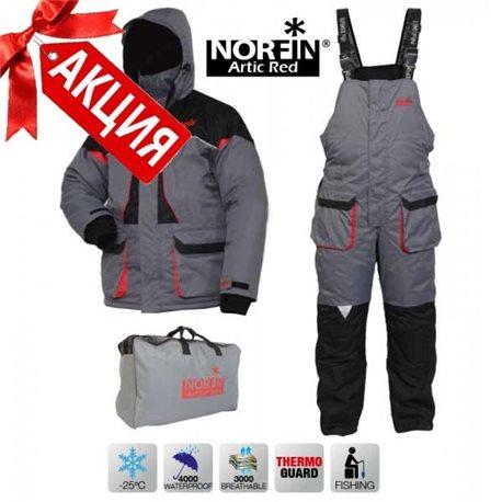 Костюм зимний NORFIN ARCTIC RED 2 NEW (арт.42210)