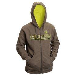 Куртка флисовая с капюшоном NORFIN green (арт. 71000)