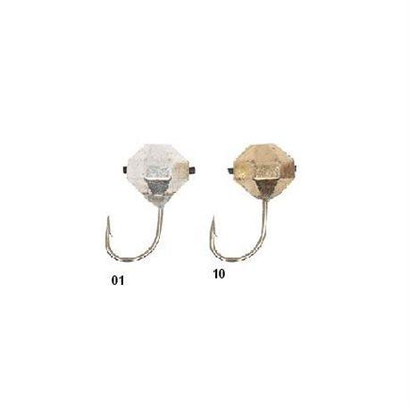 Мормышки вольфрамовые Lucky John «КАПЛЯ» с петелькой (арт. 8500К)