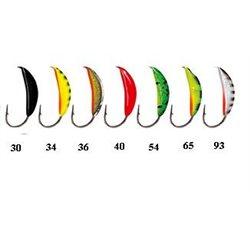 Мормышки «банан» рижский с петелькой и покрытием (арт. 804)