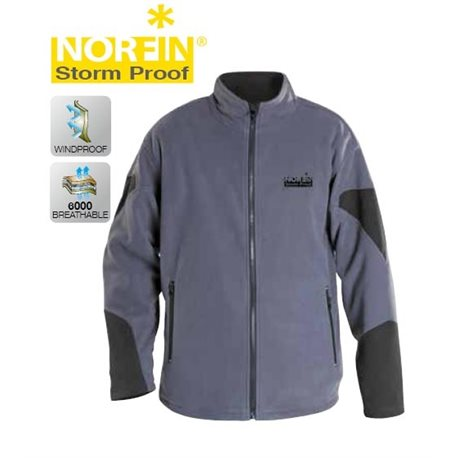 Куртка флисовая NORFIN STORM PROOF