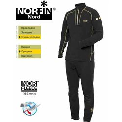 Термобілизна мікрофлісова NORFIN Nord (арт. 302700)