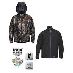 Куртка NORFIN Hunting Thunder Staidness Black (арт. 72100)