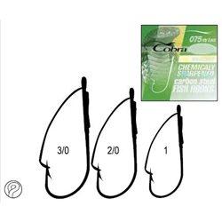 Крючки Cobra WEEDLESS (арт.C075)