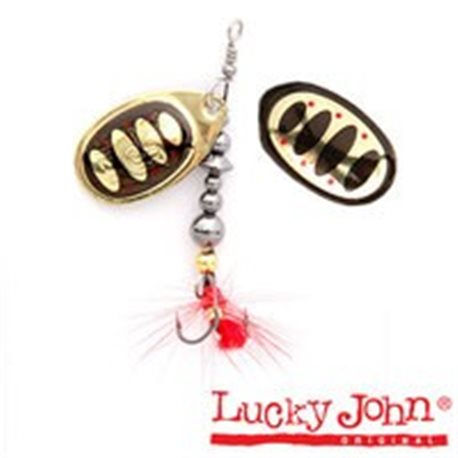 Вращающаяся блесна Lucky John Bonnie Blade (арт. LJBB01)